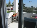 Veranda off Sitting Room. All doors & windows have mosquito screens