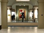 National Portrait Gallery 29 minute subway ride from Cheverly Metro