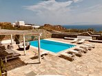 Outdoor view-Swimming Pool-Sea View