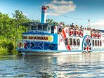 A day out on the beautiful Norfolk Broads is only a few miles away