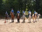 Fancy a hack? Hot to Trot riding school is 10 minutes away