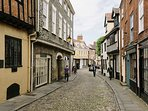 Historic Norwich is only 9 miles away for shopping, history and great eateries