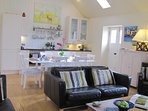 Enjoy the light, spacious open plan sociable living space
