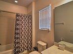 En-suite bathrooms provide added privacy.