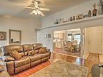 Discover the culture of Las Cruces from this 3-bed, 2-bath vacation rental home.