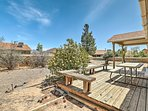 This home for 6 is surrounded by outdoor recreation and mountain views.