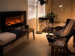 Electric Fireplace with or without Heating Option