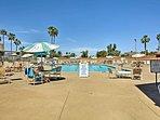 Soak up the sun at the community pool.