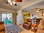 This 1,600-square-foot unit comfortably sleeps 6!