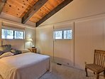 Retreat to the master bedroom for a peaceful night in.