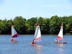 Sailing at lake Betuinic - 5km