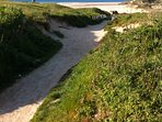South West Coast route walk in