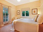 Bedroom three. Bedrooms can be set up with a king size or two king single beds.
