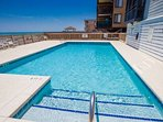 Ocean front pool for your use