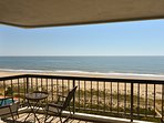 Direct ocean front 2 Bedroom 2 Bath with a pool.. 2 large balconies