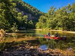 float the beautiful Buffalo Nat. River, only 4 miles from cabin