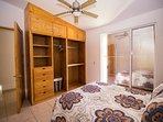 Private Queen size bedroom with private balcony.