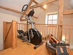 Split level gym available for guests to use