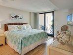 Master Bedroom, Oceanfront Views! King Bed!