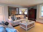 View from 1st living area toward 2nd living area-Open living room with wet bar for your enjoyment - 415 Main Street...