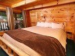 Main Floor Bedroom with King Bed