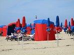 Deauville, la plage
