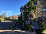 Our village pub - the famous'Halfway House