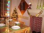 La décoration spéciale 'Fêtes de fin d'année'