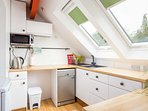 The well-presented Bolt Hole kitchen