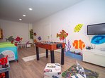 Playroom at 1st floor with toys and fun details for children all ages