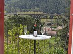 Enjoy wine in 'A Room with a View'