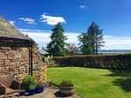 view of The Tay from Pitmiddle patio area