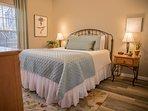 front bedroom / comfy bed