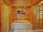 Jacuzzi Tub at Logged Out