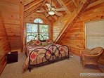 Third Floor Bedroom at Logged Out