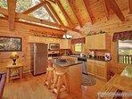 Kitchen at Alpine Tranquility