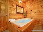 Jacuzzi Tub at Alpine Tranquility