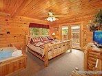 Master Bedroom at Alpine Tranquility