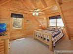 Thrid Floor Bedroom at Alpine Tranquility