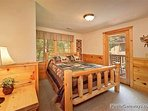 First Floor Bedroom at Alpine Tranquility