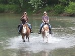 brign your own horse and enjoy the river riding  from May thru November