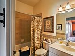 With a second full bathroom, everyone has access to beautiful amenities!