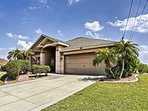 You'll be able to experience all Cape Coral has to offer at this lovely home!