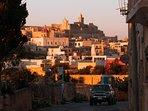 The Gozo Cittadella 10 min drive away