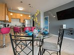 Smart TV and fully equipped kitchen for your every comfort