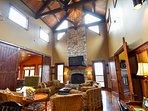 Sanctuary at Eagles Nest, Banner Elk, NC #fireplace