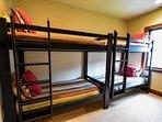 bunk room lower level