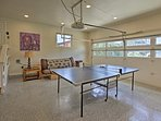 Show your competitive side with a ping-pong tournament!