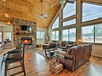 Escape to this secluded 3-bedroom, 3-bath vacation rental cabin in Vernon!