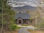 This magnificent home is just 7 minutes from downtown Asheville.